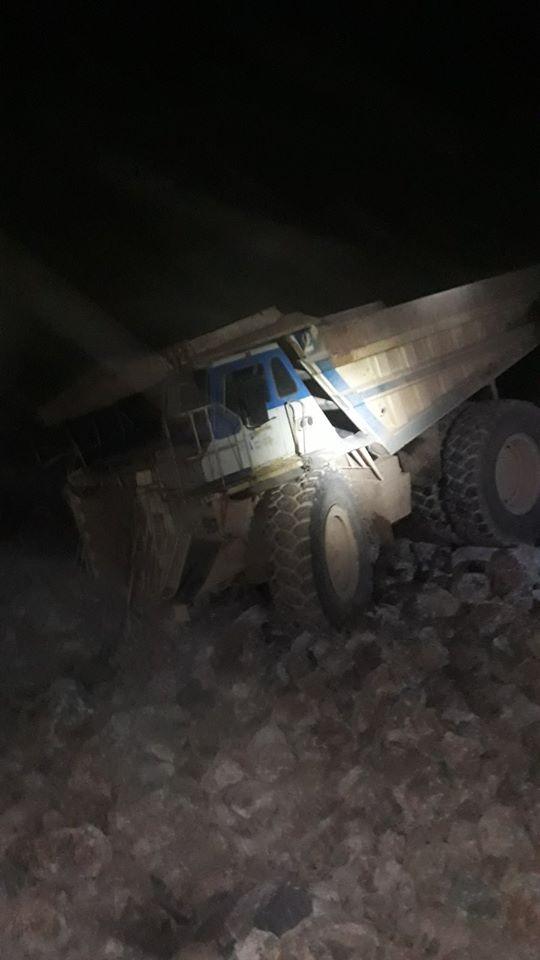 Αυτό είναι το όχημα με το οποίο ο άτυχος 35χρονος έχασε την ζωή του στο νταμάρι της ΛΑΡΚΟ