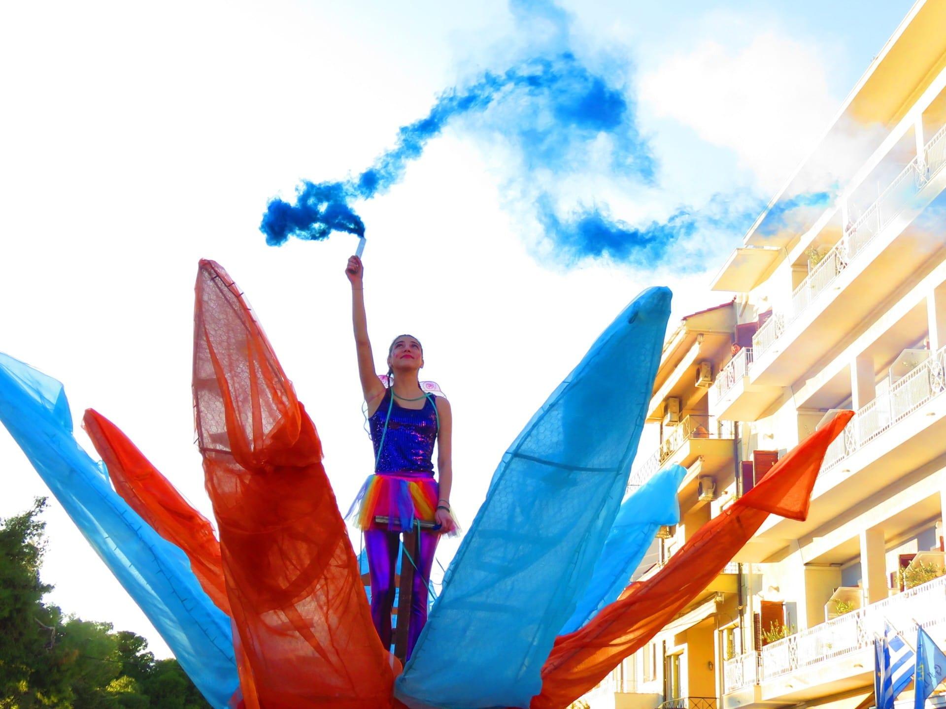 #ΙΤΕΑ : Οι καλύτερες φωτογραφίες από το Καρναβάλι στο Λιμάνι 2020